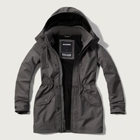 A&F All-Season Weather Warrior Parka