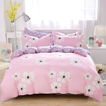 Personalized fashionable pastoral bedding cartoon cotton sets