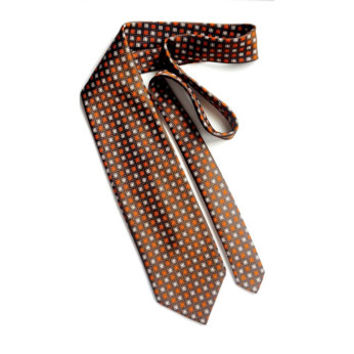 "Vintage 70s Tie,VELDUCCI Necktie,Made in Portugal,4"" Wide Tie,Polyester Tie,Retro Tie,Vintage Mens Accessories,Cool Ties,Brown Tie,For Him"