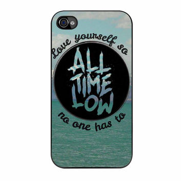 All Time Low Logo iPhone 4s Case