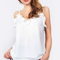 Pure Ruffles Top *