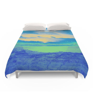 Society6 Beach Duvet Cover