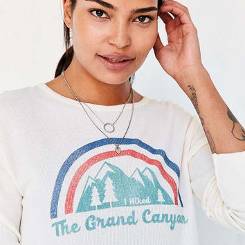 Truly Madly Deeply Grand Canyon Long-Sleeve Thermal Tee - Urban Outfitters