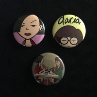 "DARIA 1"" buttons"
