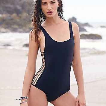 Acacia Swimwear Womens Bordeaux One Piece