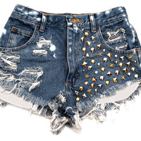 Mixed Metal Shorts