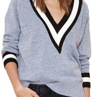Club Day Sweater in Gray