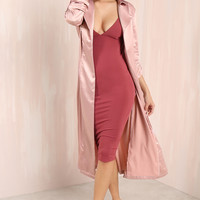 Style Take Coat - Blush