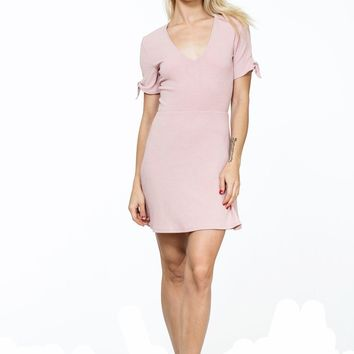 Pretty Pink Causal Dress
