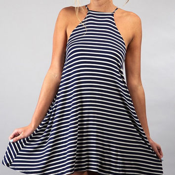 Halter Top Dress with Racerback