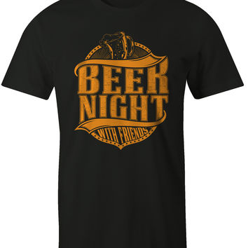 Beer Night with Friends Mens Tee