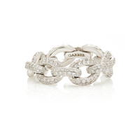 Oval Diamond Link Ring | Moda Operandi