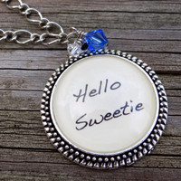 Hello Sweetie Pendant Necklace