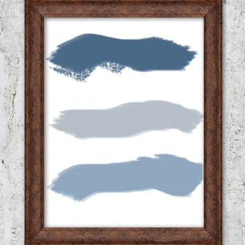 Modern Print Paint Strokes Neutral Wall Art Abstract Wall Decor Minimalist Prints INSTANT DOWNLOAD Printable poster Downloadable Art Digital