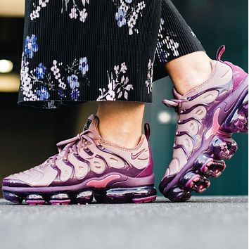Nike Air Vapormax Plus Fashion New Air Cushion Sport Running Women Shoes Leisure Sneakers