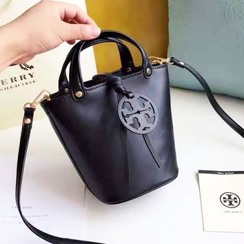 Tory burch stylish solid color lady shopping bag hot seller with a small retro shoulder bag