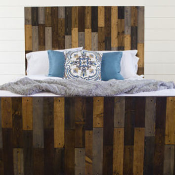 Extra Tall Solid Wood Forester Bed + Headboard