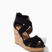 Sammy Cork & Zip Wedge | Shoes | charming charlie