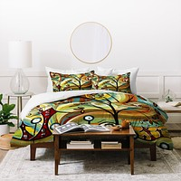 Madart Inc. Fall Colors Duvet Cover