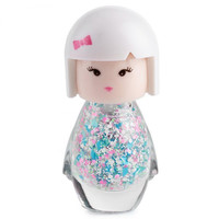 7ml Cute Little Girl Pure Color Nail Polish Doll Head Random Delivery