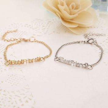 Awesome Shiny Great Deal New Arrival Stylish Gift Hot Sale Bracelet [8026326791]