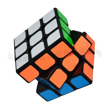 New 57mm YongJun Professional Speed Magic Cube Block Puzzle Three Layers Cubo Magico Educational Toys Brain Teaser Gifts