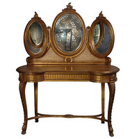 Versailles Gold Dressing Table|Dressing Tables|Tables|French Bedroom Company
