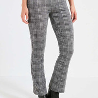 UO High-Rise Plaid Kick Flare Pant | Urban Outfitters