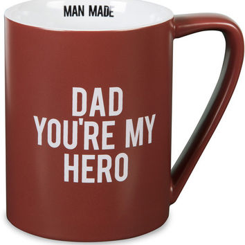 Dad You're My Hero Mug
