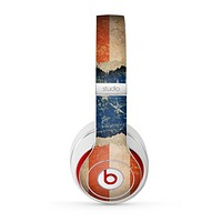 The Scratched Surface Peeled American Flag Skin for the Beats by Dre Studio (2013+ Version) Headphones