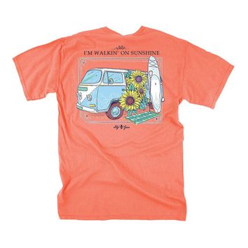 Walkin' On Sunshine Tee by Lily Grace