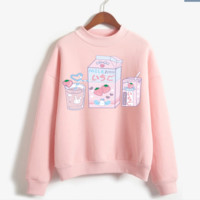 Strawberry Milk Hoody