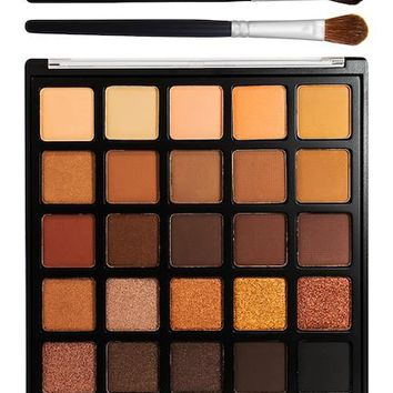Authentic Morphe Copper Spice Eyeshadow Palette & Brush Set
