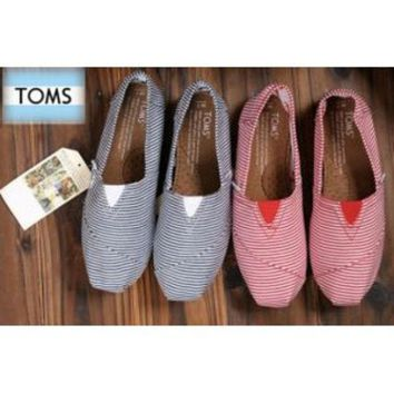 VOND4H TOMS UNISEX FLAT SHOES FASHION LEISURE LOAFERS