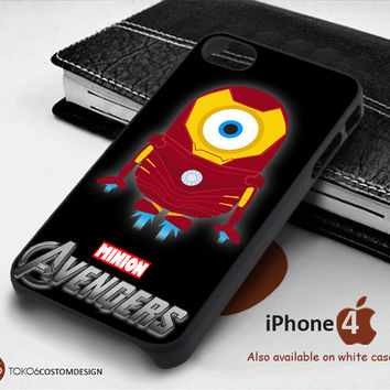 Iron Man Minion Avengers for iPhone 4/4S, iPhone 5/5S, iPhone 6, iPod 4, iPod 5, Samsung Galaxy Note 3, Galaxy Note 4, Galaxy S3, Galaxy S4, Galaxy S5, Galaxy S6, Phone Case