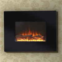 Wall Mounted Electric Fireplace 26-inch Wide