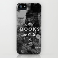 Quote iPhone & iPod Case by Jane Mathieu