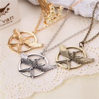 Hunger Games 3 New Version Bird Logo Necklace