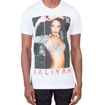 Aaliyah Tour Tee (White) - AALIYAHTR-WH | Jimmy Jazz