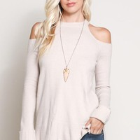 Heartbreak Hotel Sweater - Cream