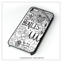 Personalized The Beatles iPhone 4 4S 5 5S 5C 6 6 Plus , iPod 4 5 , Samsung Galaxy S3 S4 S5 Note 3 Note 4 , HTC One X M7 M8 Case