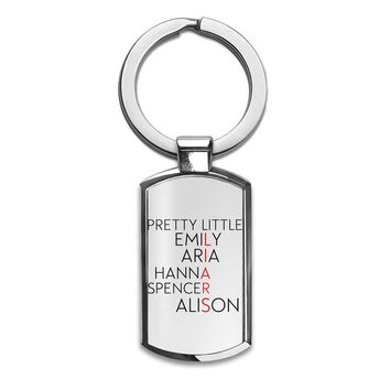 Pretty Little Liars  Premium Stainless Steel Key Ring| Enjoy A Unique  & Personalized Key Hanger To Carry Your Keys W/ Style| Custom Quality Prints| Household Souvenirs By Styleart