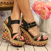 Girl Gone Tribal Wedges