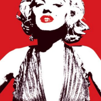 New Brand Custom Marilyn Monroe Classic Bedroom Setting Home Decoration High Quality Poster Prints Size50x75cm Wall Sticker C686