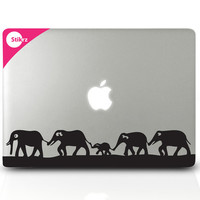 Vinyl MAC DECAL laptop stickers Wall Safari Kids Room by stikrz