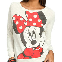 Minnie Bow Sweatshirt | Shop Tops at Wet Seal