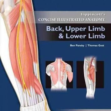 Lippincott's Concise Illustrated Anatomy: Back, Upper Limb & Lower Limb: Lippincott's Concise Illustrated Anatomy