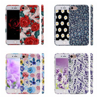Floral Pattern Soft Case for iPhone 7/ 7 Plus