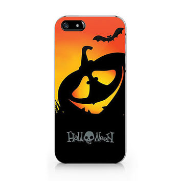 Pumpkin Hallowqueen phone case,iPhone 5 5S case, iPhone 4 4S case, Free shipping M-551