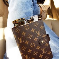 LV Louis Vuitton New Fashion Couple Portable Hand Book Notebook